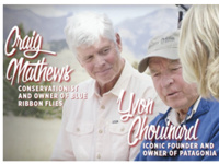 Live Stream from Coe College: Yvon Chouinard and Craig Mathews