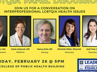 LGBTQIA Panel Discussion on Health Issues
