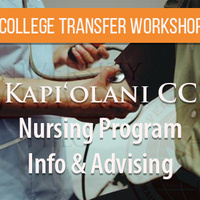 Kapiolani Community College's Nursing Info session