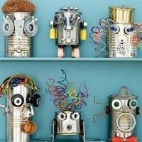How To Tuesday (on Monday):  Junk Art, Found Art, and Upcycling