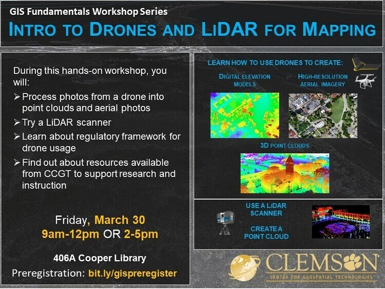 Intro to Drones and LiDAR for Mapping