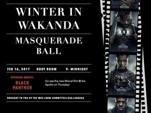 Winter in Wakanda Masquerade Ball