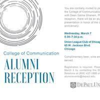 College of Communication Alumni Reception