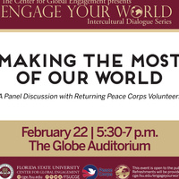 Making the Most of Our World: A Panel Discussion by Returning Peace Corps Volunteers