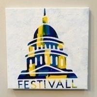 Uncork & Create: FestivALL Hot Mess Painting Event