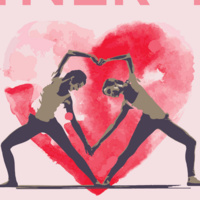 Valentine S Day Partner Yoga Event Calendar