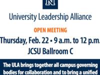 University Leadership Alliance (ULA) Meeting