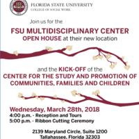 FSU Multidisciplinary Center Open House