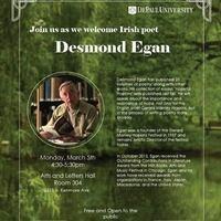Desmond Egan, Irish poet