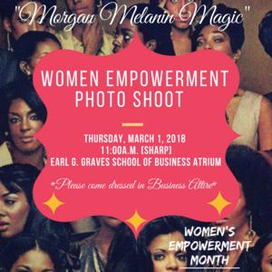 Melanin Magic Women's Empowerment Photoshoot