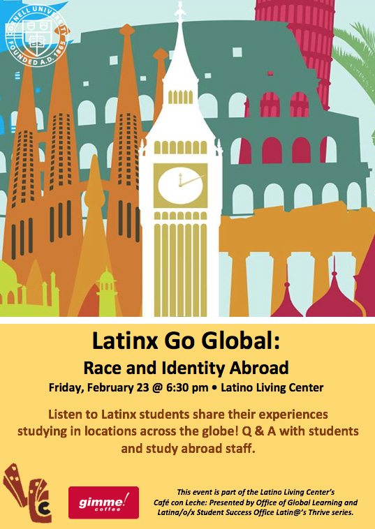Latinx Go Global: Race and Identity Abroad