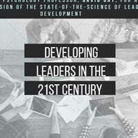 Developing Leaders in the 21st Century with Professor of Psychology,  David Day
