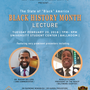 Student Government Association - Black History Month Lecture