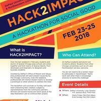 HACK2IMPACT - A Hackathon for Social Good