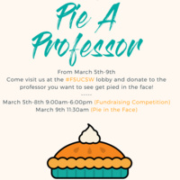 "Arts & Athletics Camp ""Pie a Professor"" Fundraiser"