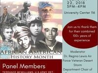Black History Month Veteran Panel