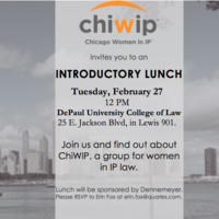Chicago Woman IP (ChiWIP) Introductory Lunch