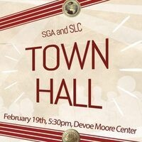 SGA & SLC Town Hall