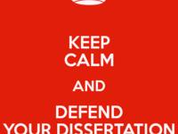 Final PhD Defense for Hongya Qu