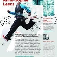 CDM School of Design Talks: Anne-Sophie Leens: UX designer, and Afro-punk-rap band member of DOOKOOM