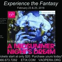 Benjamin Britten's- A Midsummer Night's Dream
