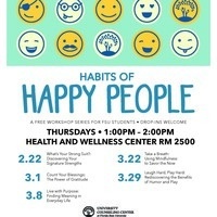 Habits of Happy People Workshop Series