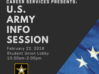 U.S. Army Information Session