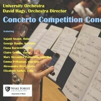 Orchestra Concert Featuring Concerto Competition Winners