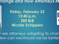 Lawyers & Leaders: What's Next In the Legal Profession: Clients Sparking Change & How Attorneys Must Adapt