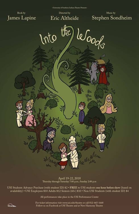 USI Theatre: Into The Woods At Performance Center