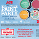 Paint Party @ Davis Ace