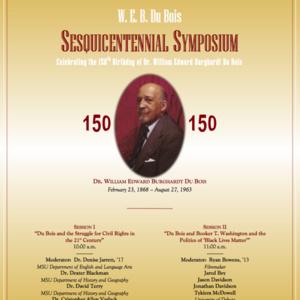W. E. B. Du Bois Sesquicentennial Symposium