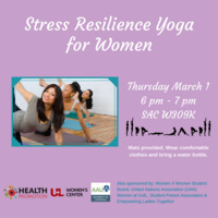 Women's Stress Resilience Yoga