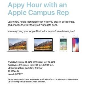 "Apple ""Appy Hours"" - Free Mac Workshops!"