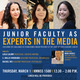 Junior Faculty as Experts in the Media