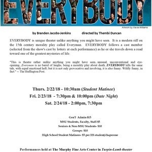 Theatre Morgan present: EVERYBODY
