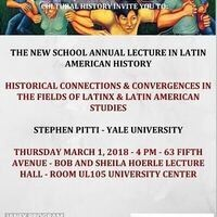 Historical Connections & Convergences in the Fields of Latinx & Latin American Studies