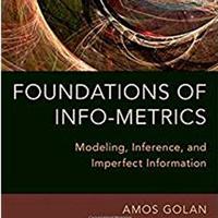 Economics Seminar Series- Amos Golan
