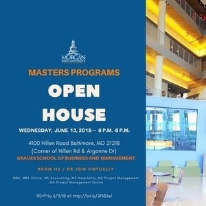 Graves School of Business Masters Programs Open House