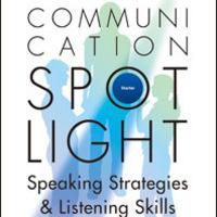 ESL Classes Level 4- High Intermediate Listening Speaking Communication Spotlight 2