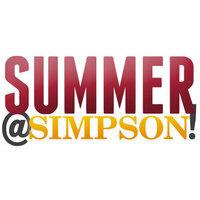 Summer @ Simpson Information Table