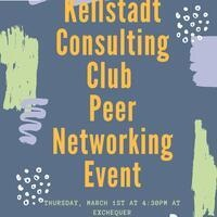Kellstadt Consulting Club Peer Networking Event