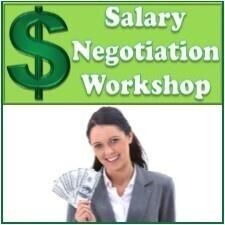 Salary Negotiation Workshop At University Center