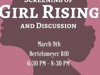 Women's History Month Screening of Girl Rising and discussion