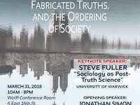 """Annual Sociology Conference 2018 """"Authentic Myths, Fabricated Truths and The Ordering of Society"""""""