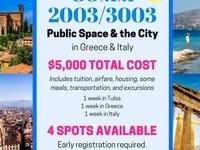 """""""Public Space & the City"""" Registration Deadline"""