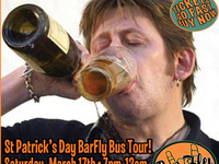 18th Annual Saint Patrick's Day BarFly Bus Tour