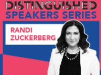 Distinguished Speakers Series: Randi Zuckerberg