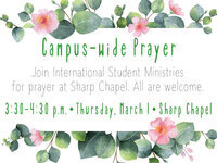 Campus-Wide Prayer
