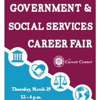Government & Social Services Career Fair